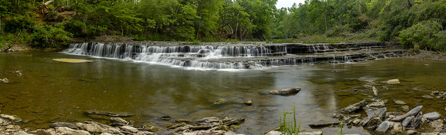 Unnamed waterfall, Spring Creek, Overton County, Tennessee 2