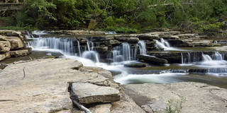 Unnamed waterfall, Spring Creek, Overton County, Tennessee 3