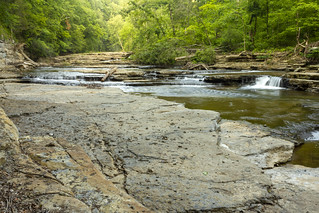 Unnamed waterfall, Spring Creek, Overton County, Tennessee 4