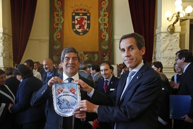 Coro Vicente Bianchi en el Concejo Municipal