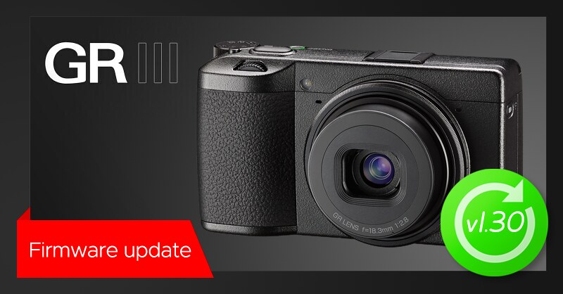 New firmware update v1.30 for RICOH GR III
