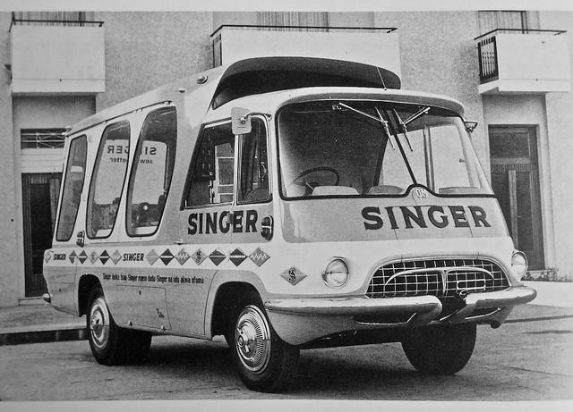 1950s OM Leoncino Fissore Publicity Van