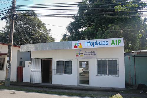 Re-Inauguración Infoplaza Boquerón