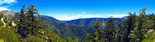 sanbernardinonationalforest california photo digital summer panorama mountains forest bigbearlake