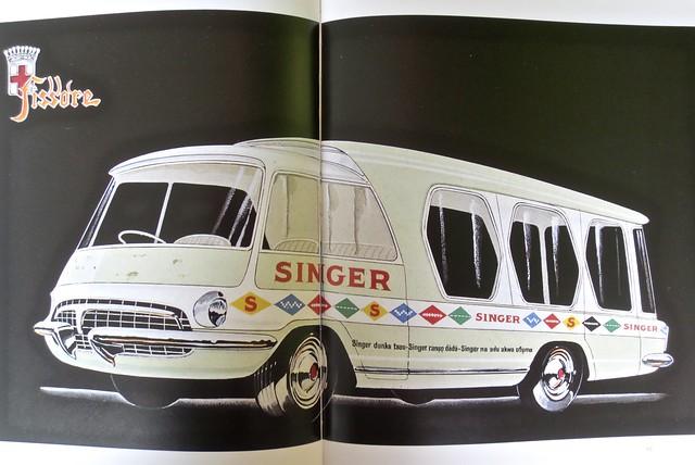 1950s OM Leoncino Fissore Mobile Showroom