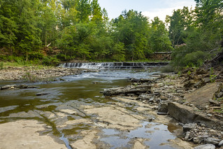 Upper Waterloo Falls, Spring Creek, Overton County, Tennessee 6