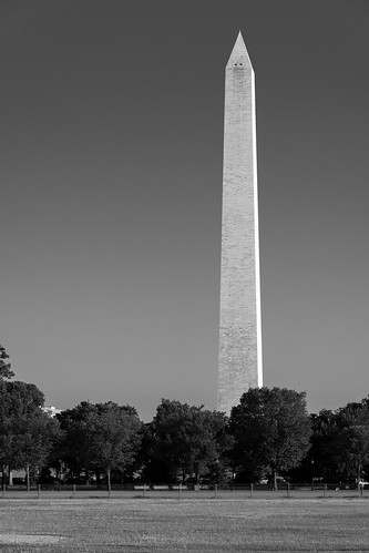 Washington Monument B&W | by joncutrer