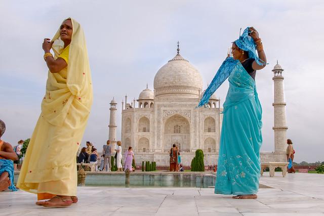 ** Ladies and the Taj Mahal **