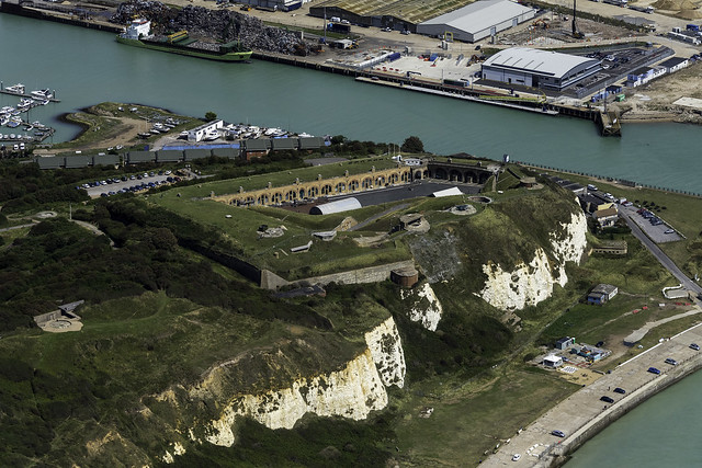 Newhaven Fort aerial image