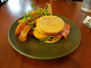 Bacon & Egg MockMuffin at The Green Edge