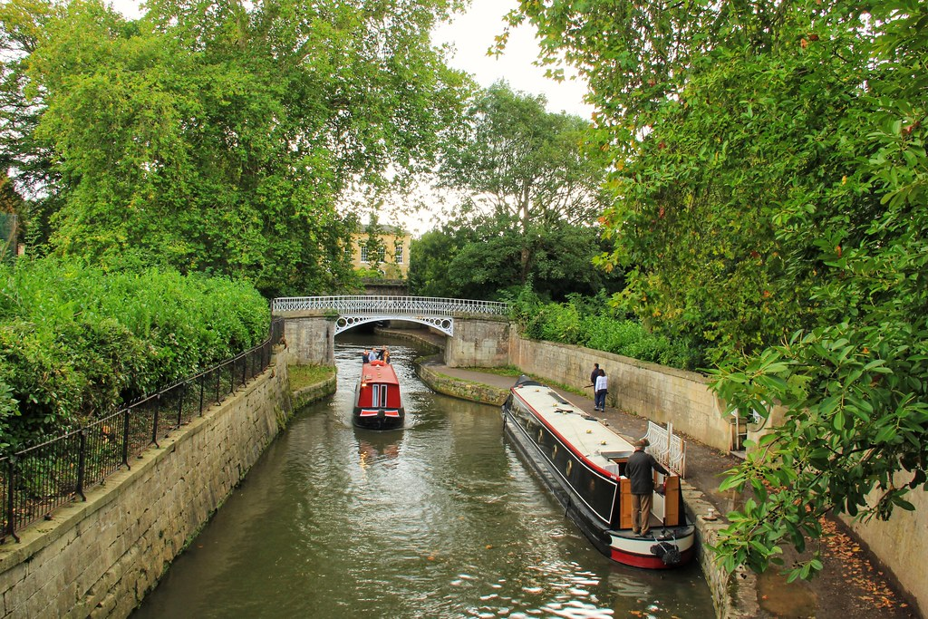 Kennet and Avon Canal, Sydney Gardens, Bath
