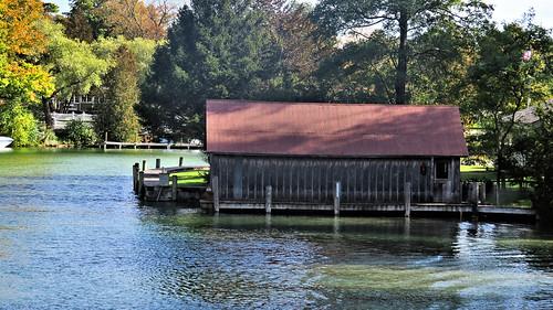 Boathouse, Leland, Michigan