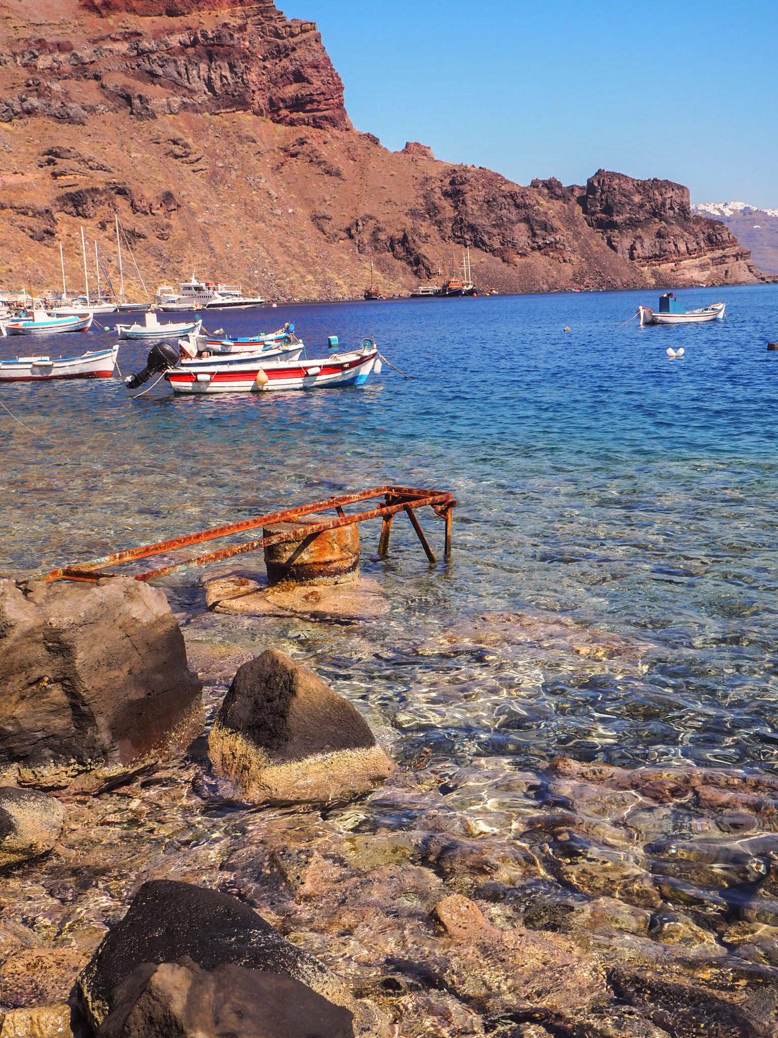 Santorini retket