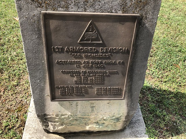 1st Armored Division Monument