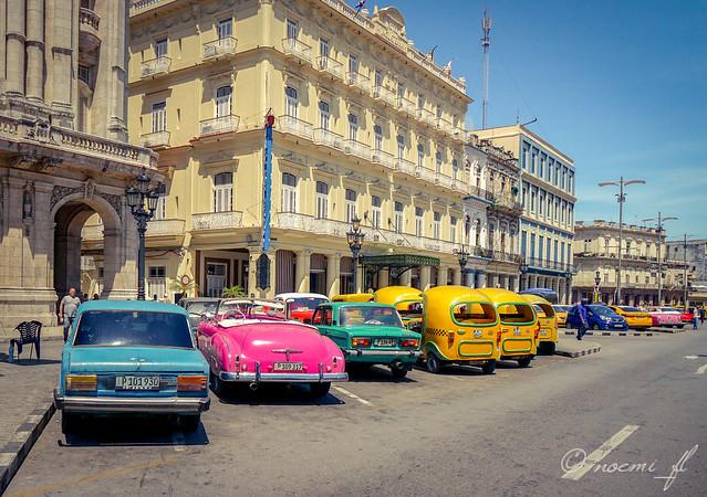 Taxis y Coco-taxis