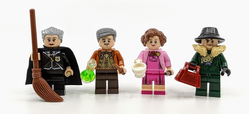 Lego Harry Potter Bricktober Minifigures Review Bricksfanz