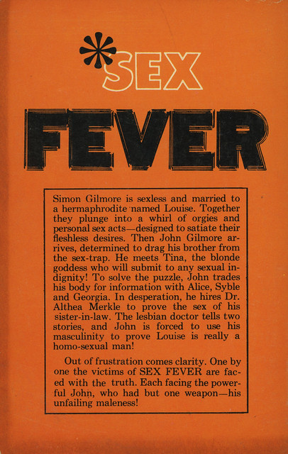 Exotik Books W-12 - Jack Kahler - Sex Fever (back)