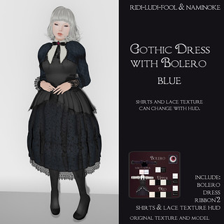 ridi-ludi-fool + *NAMINOKE*Gothic Dress with Bolero