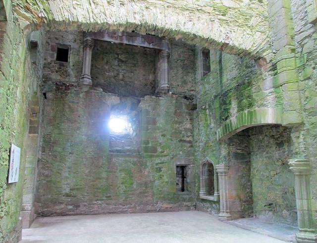 Cardoness Castle Interior 1