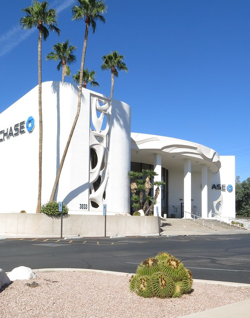 Former Valley National Bank Building - Tucson, AZ - Designed by Don Smith for Friedman & Jobusch