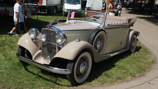 1935 Mercedes-Benz Model 200 Cabriolet