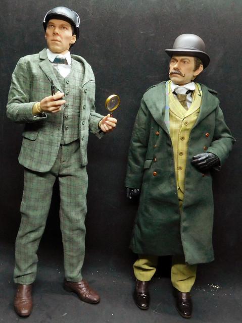 1/6 scale Sherlock & Watson from