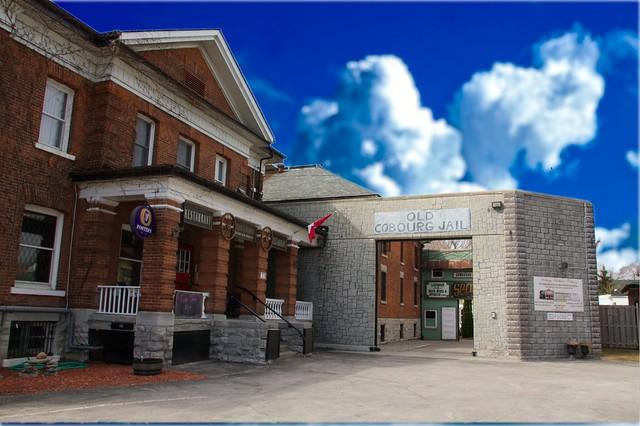 King George Inn - Old Cobourg Jail - Cobourg Ontario - Canada  - Heritage