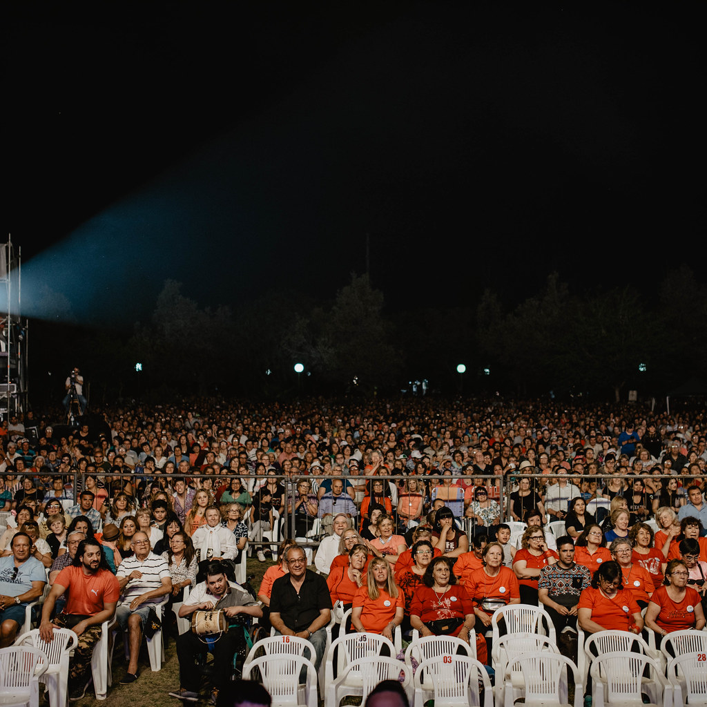 2019-10-10 Desarrollo Humano: Unas 13 mil personas disfrutaron del show del Chaqueño Palavecino