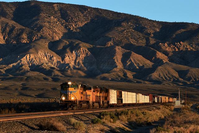 Mojave sunrise