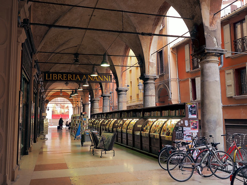 Around Bologna ... a beautiful portico | by █ Slices of Light █▀ ▀ ▀
