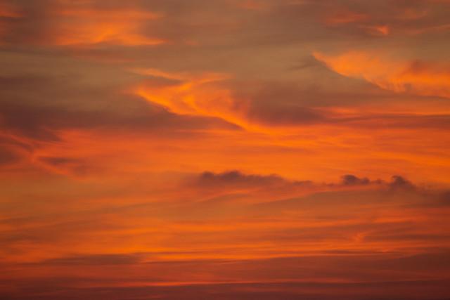 Nubes arrebolada 04