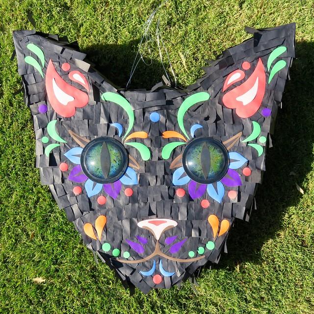 Black Cat Piñata