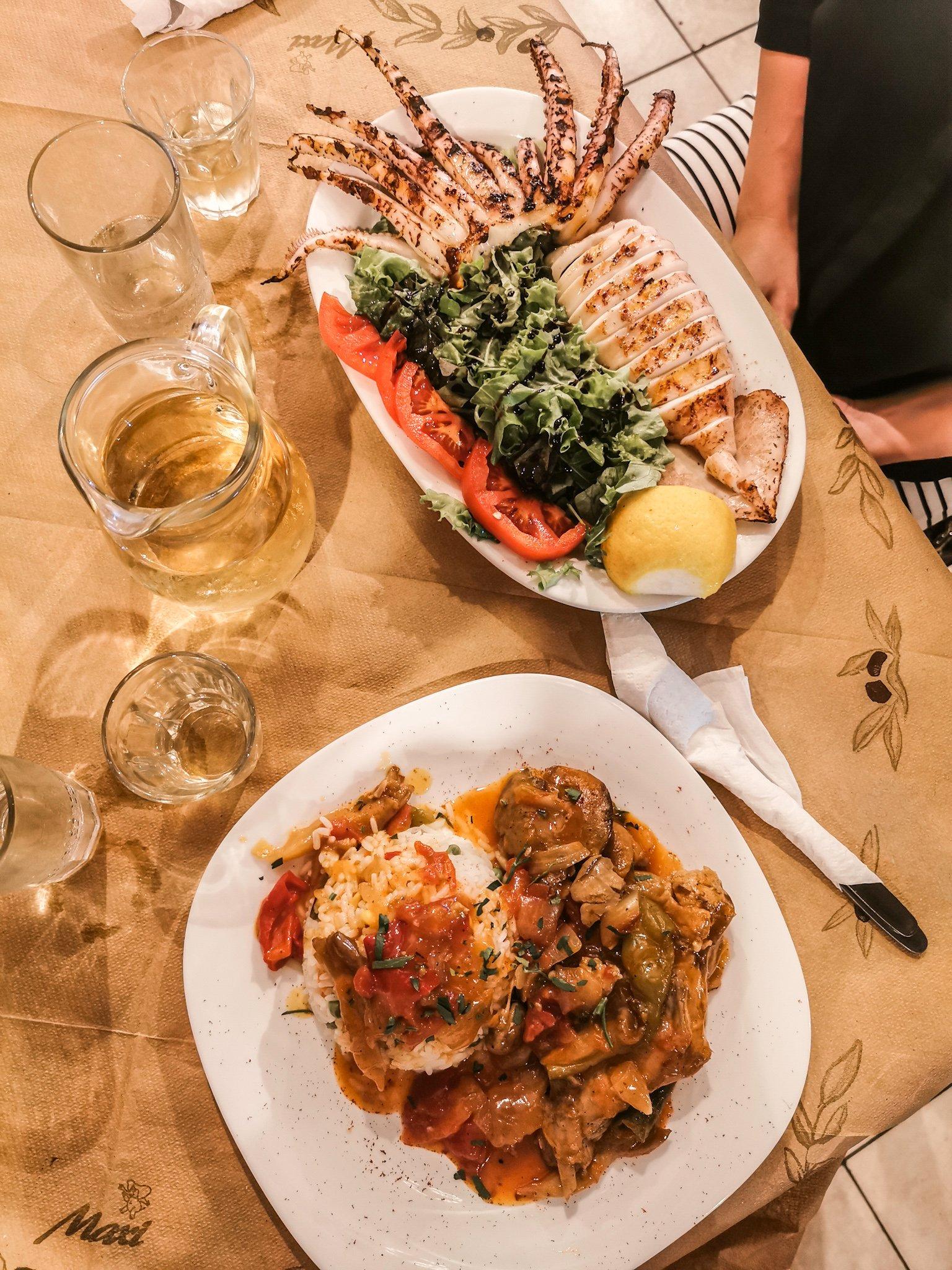Ravintolat Santorini