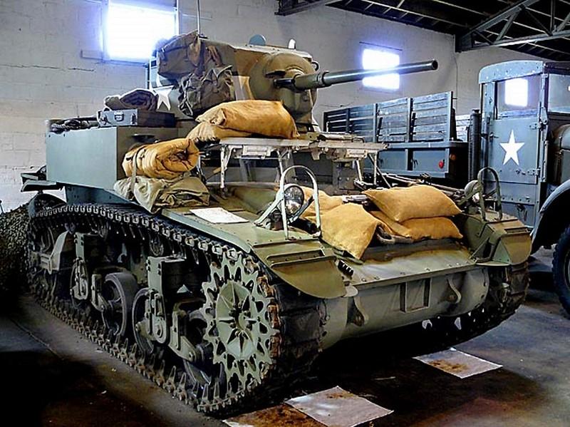 M3A1 Generál Stuart Lehký Tank 00002