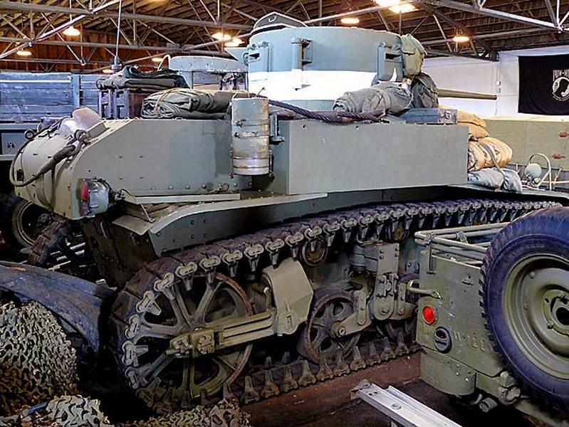 M3A1 Generál Stuart Lehký Tank 00001