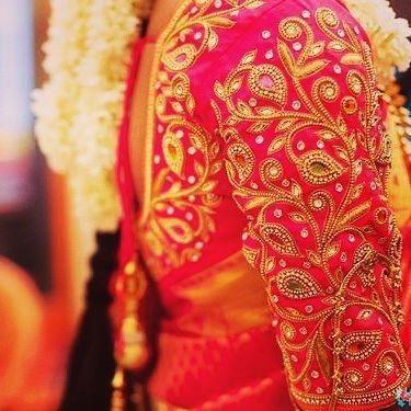 Bridal Blouse Designs for Silk Sarees & Pattu Sarees in 20182019 pattu saree blouse designs