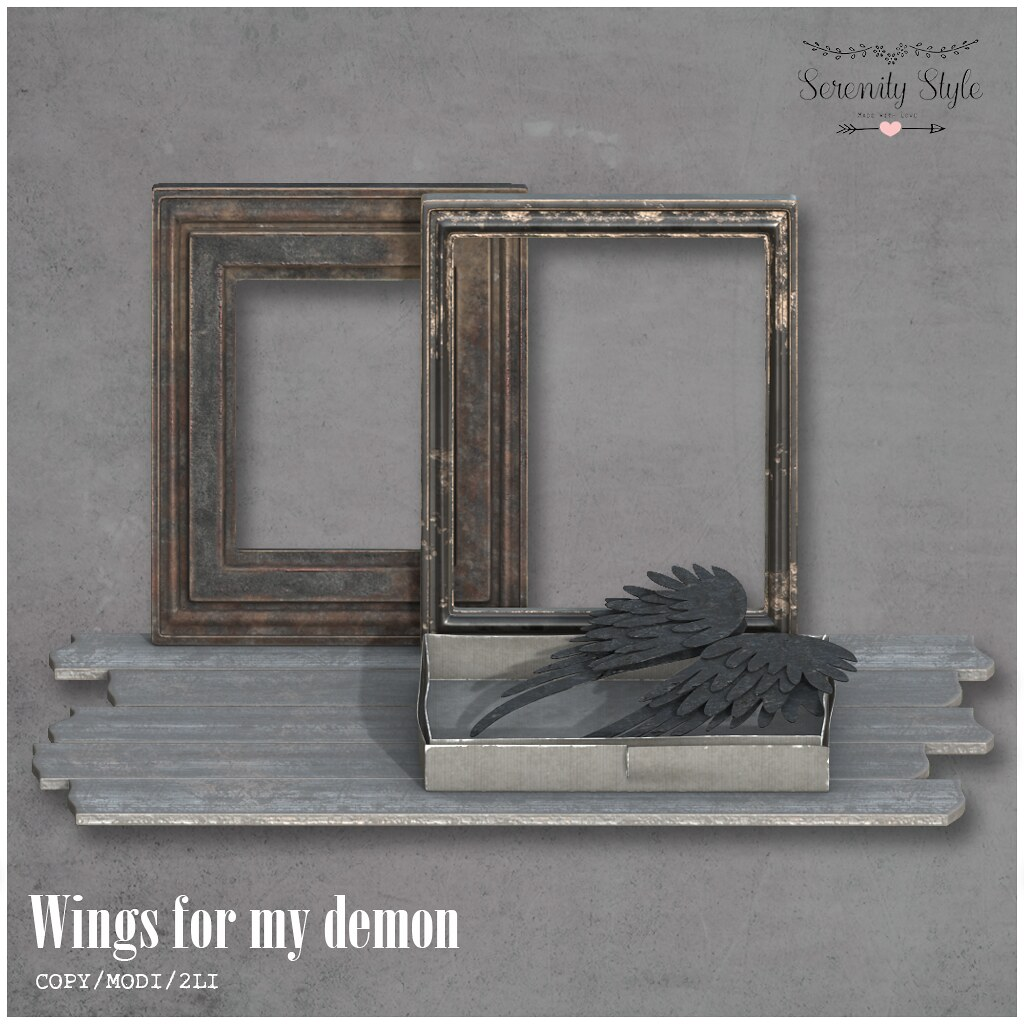 Serenity Style- Wings for my demon