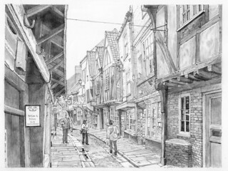 The south side of Shambles, York
