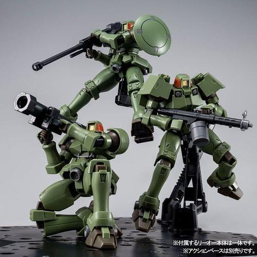 量產機的武裝大逆襲!HGAC 1/144《新機動戰記鋼彈W》里歐全武裝套組(リーオー フルウェポンセット)