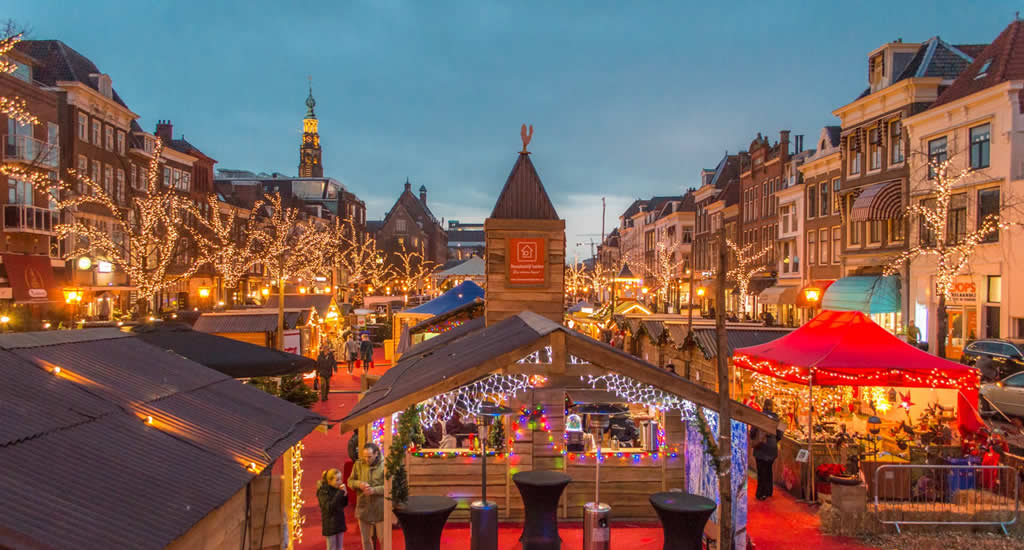 Floating Leiden Christmas Market (photo credit: Visit Leiden) | Your Dutch Guide