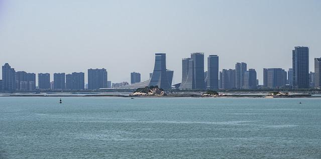 Hazy Skyline Xiamen
