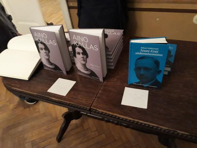 Kirjanduslik teisipäeva: Kallas ja Tammsaare