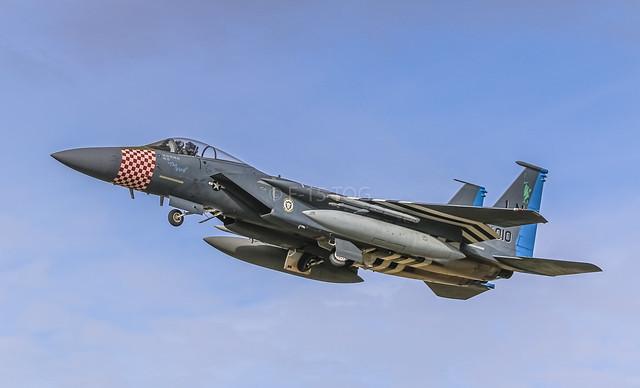 493d FS F-15c