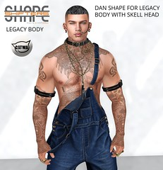 [SHAPEshifters] DAN SHAPE FOR LEGACY BODY WITH SKELL HEAD (1)