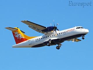 F-WWLL ATR42 Drukair