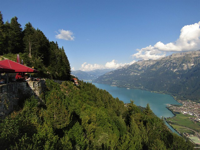 Breathtaking Views From Harder Kulm in Interlaken, Switzerland