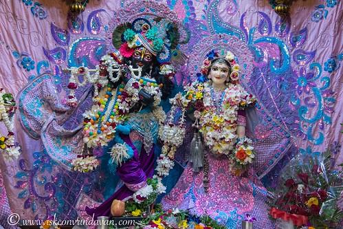 ISKCON Vrindavan Deity Darshan 11 Oct 2019