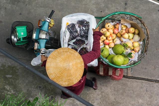 ambulant fruit seller