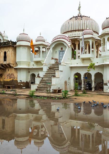 Hindu Gherka temple, Rajasthan, Nawalgarh, India