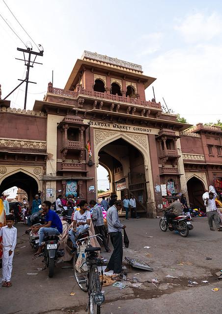 Sardar market old tower, Rajasthan, Jodhpur, India